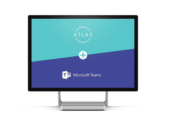 Atlas integrated with Microsoft Teams as a Teams App