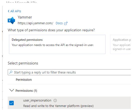 All APIs screenshot