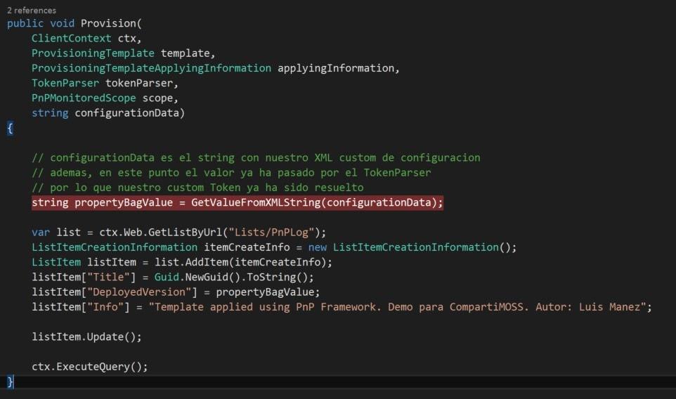 Extensibility Handler Code 6