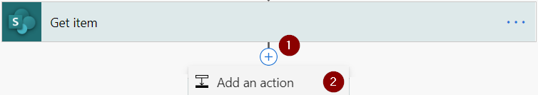 Power Automate Teams Add an action