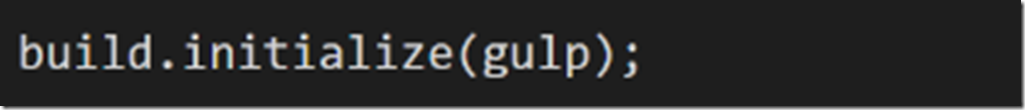 SharePoint framwork Gulp 3