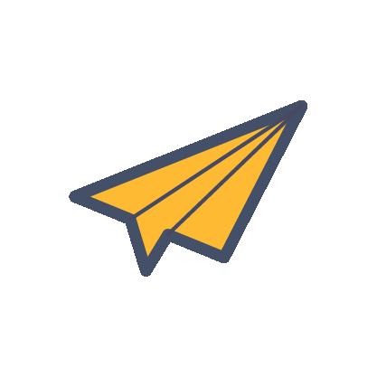 PaperPlane-yellow-24