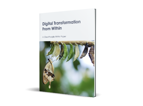 ClearPeople White Paper Accelerating digital transformation from within