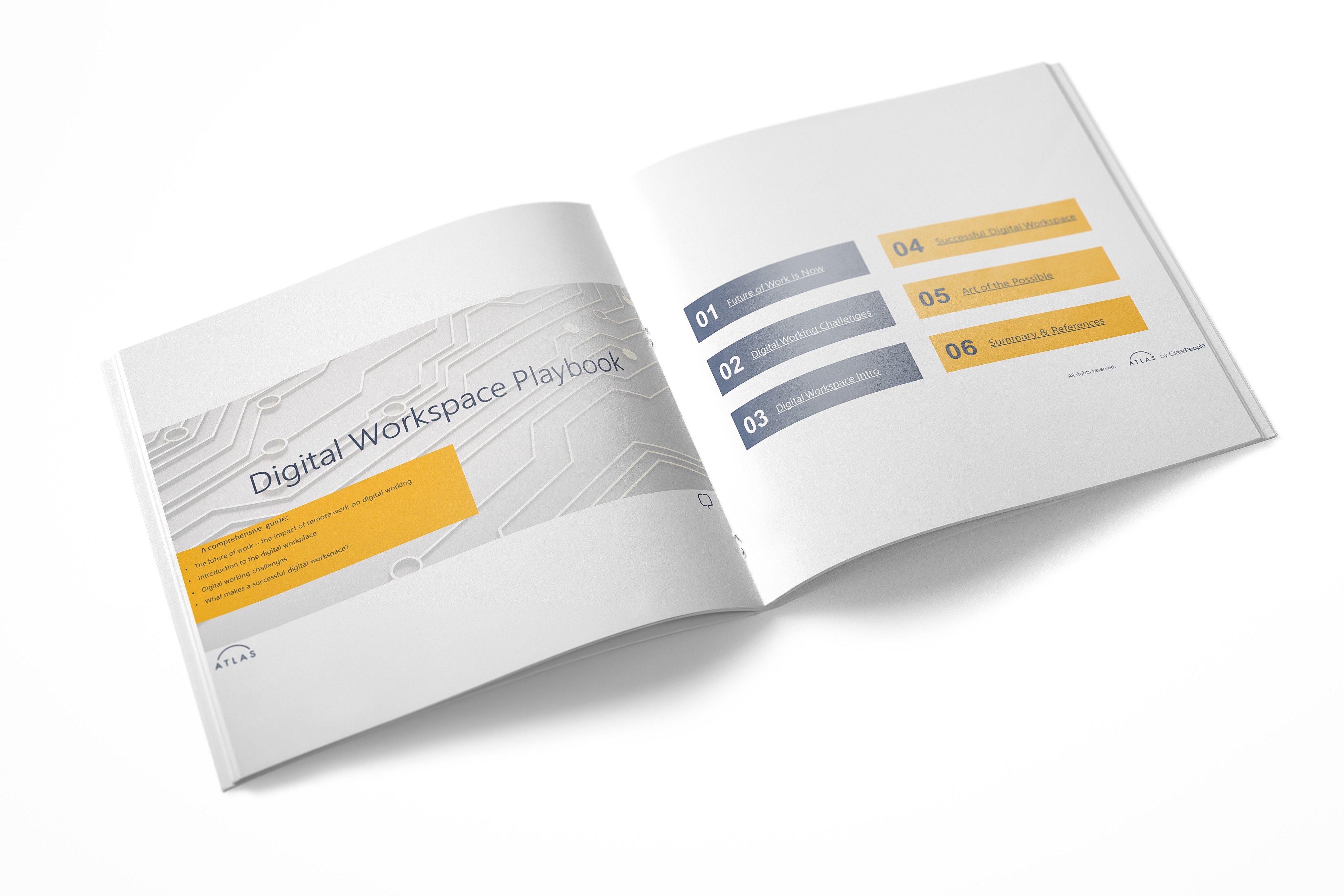 Digital Workspace Playbook Illustration