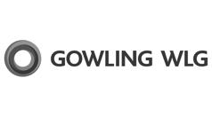 Gowling logo greyscale