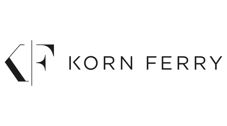 Korn Ferry logo greyscale 2