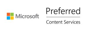 Microsoft Content Serv Preferred White_500x187
