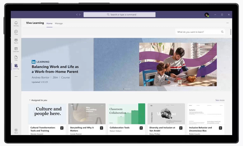 Microsoft Viva Learning preview