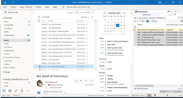 Atlas Email integration