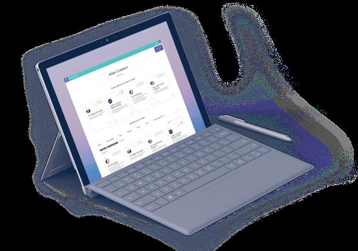Atlas shown on Laptop