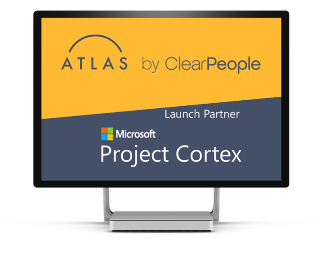 ClearPeople and Atlas is Launch Partner for Microsoft Project Cortex