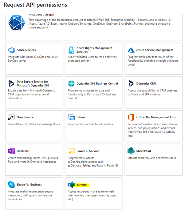 How to fix the Yammer API authentication issue