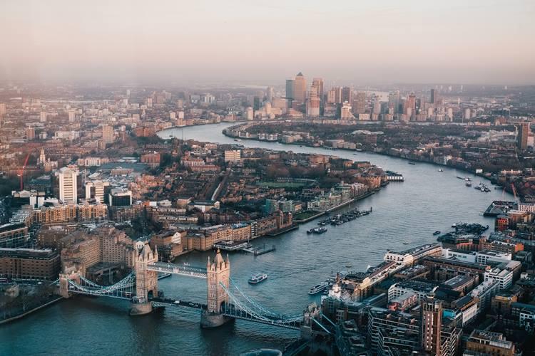 Tower Bridge River Scene